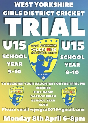 U.15s Girls Trials