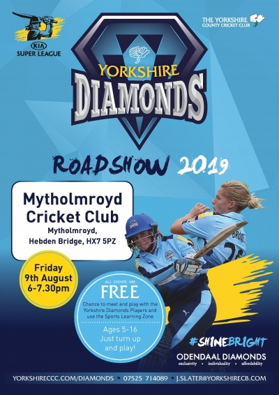 Yorkshire Diamonds Roadshow