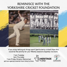 Yorkshire Cricket Foundation Sporting Reminiscence Offer