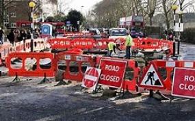 News of Road Closure